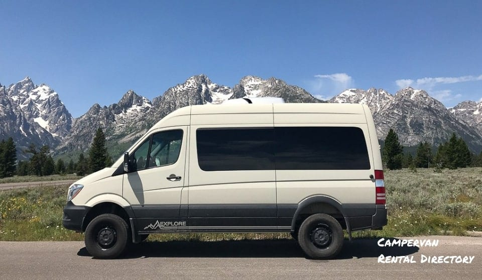 Campervan Rental Directory by State - Camper Rental