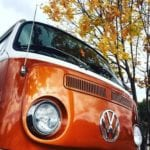 VW Bus Orange